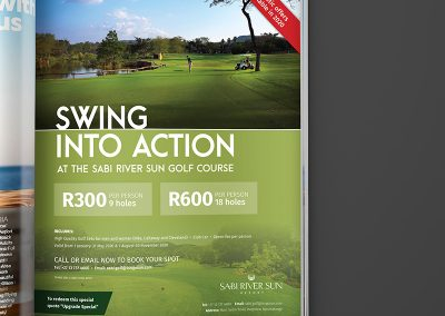swingintoaction advert